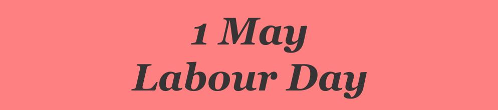 1 May 2021